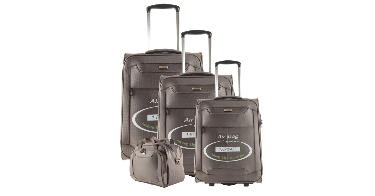 30c87ab60ffc Touareg bronz színű extra könnyű bőrönd szett - Touareg - Táska webáruház - Minőségi  táskák mindenkinek
