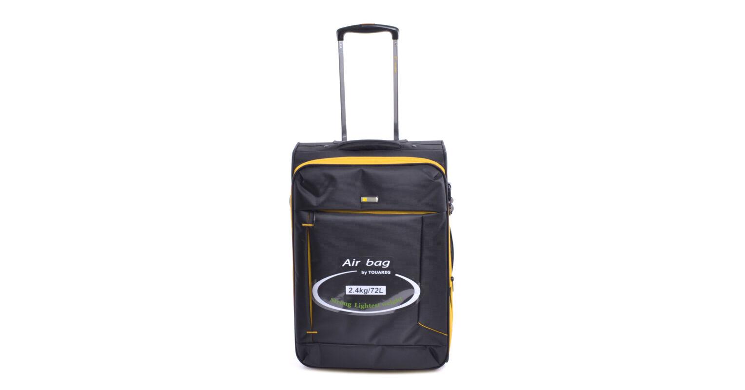 8434238bf0dc Touareg Közepes Méretű Bőrönd Fekete-Sárga - KÖZEPES MÉRETŰ BŐRÖNDÖK - Táska  webáruház - Minőségi táskák mindenkinek