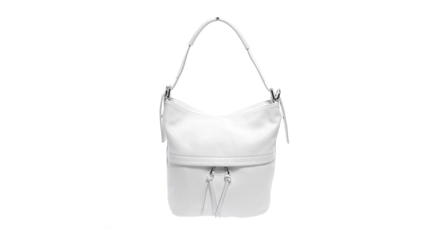 f9d466c664b2 Besty Fehér Női Valódi Bőr Válltáska - VALÓDI BŐRTÁSKÁK - Táska webáruház -  Minőségi táskák mindenkinek