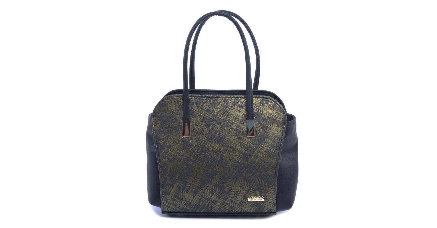 02094a4619ec Nöi Mübör Válltáska Fekete-Zöld - Válltáskák - Táska webáruház - Minőségi  táskák mindenkinek