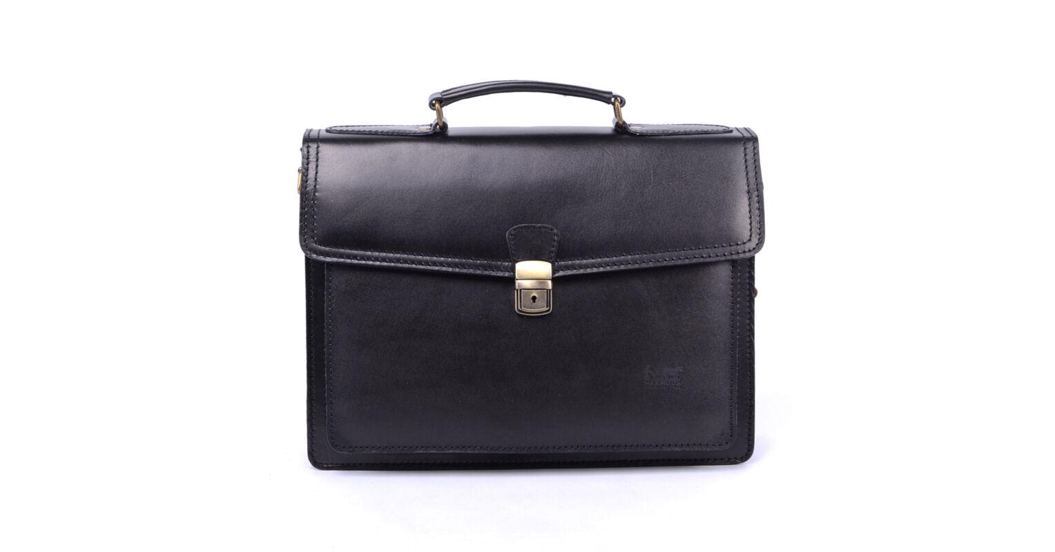 1fde38c48e22 Maxmoda Női Fekete Valódi Bőr Aktatáska - női - Táska webáruház - Minőségi  táskák mindenkinek