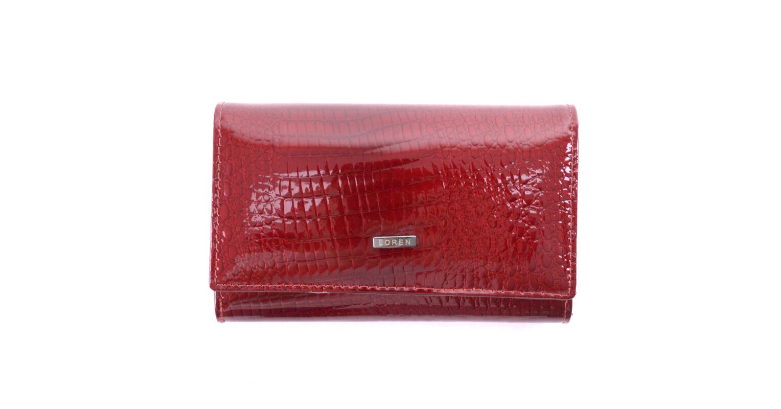 d8750a9e3006 Loren Női Lakkbőr Pénztárca Piros - NŐI PÉNZTÁRCÁK - Táska webáruház -  Minőségi táskák mindenkinek