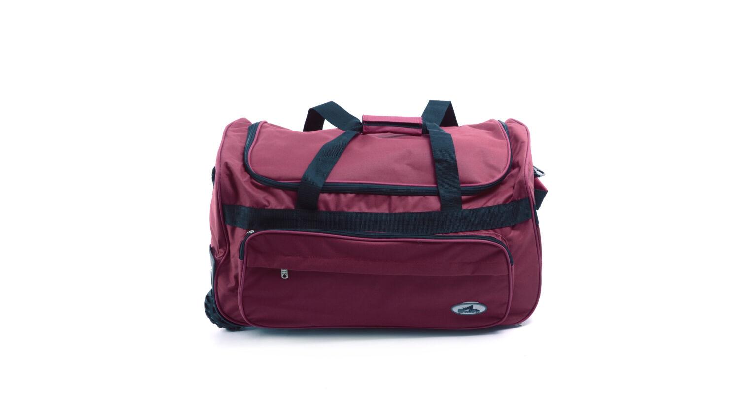 d071b534e8dc Poliészter Gurulós Sporttáska Bordó Kicsi - KIS MÉRETŰ UTAZÓTÁSKA - Táska  webáruház - Minőségi táskák mindenkinek