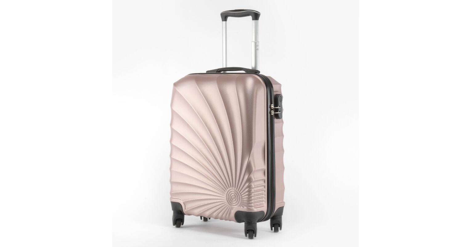 5909f236dad5 Abs-2092 Ormi Extra Könnyű Kabinbőrönd Rózsaarany 55*40*20cm - KABIN (kis)  MÉRETŰ BŐRÖNDÖK - Táska webáruház - Minőségi táskák mindenkinek
