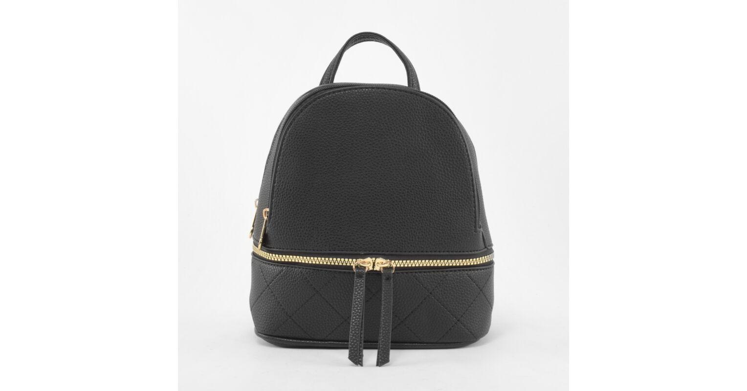 dcfbe0e7acf7 Erick Style kisméretű Fekete Női Műbőr hátizsák és válltáska - Műbőr -  Táska webáruház - Minőségi táskák mindenkinek