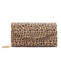 Leopárd mintás női műbőr alkalmi táska