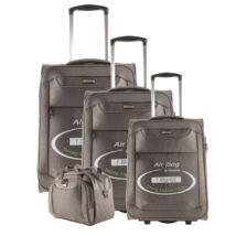 Touareg bronz színű extra könnyű bőrönd szett