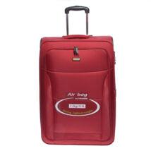 Air6201 Bordó Touareg Nagy Méretű Bőrönd