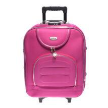 Rózsaszín Kabin Méretű Bőrönd 55*40*20cm Bd701