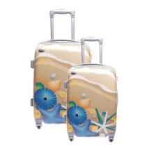 Ormi Kagylós Kemény Bőrönd Szett