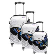 Ormi Pillangós Kemény Bőrönd Szett