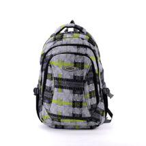 AOKING szürke/zöld hátizsák