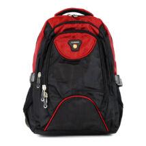 AOKING bordó/fekete hátizsák