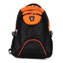 AOKING narancssárga/fekete hátizsák
