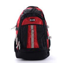 AOKING fekete/piros óriási hátizsák