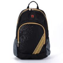 Swisswin Fekete-aranyszínű Dernier Polyester Hátizsák