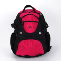 SWISSWIN rózsaszín/fekete hátizsák