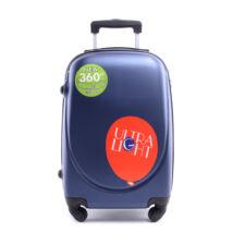 Besty Kék Extra Könnyű Kemény kabinbőrönd (4 Kerekű)