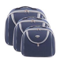Kék Bőröndre Akasztható Táska Szett