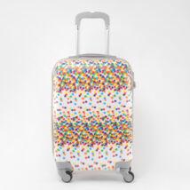 LDV Csillagos Kemény falú Négy kerekű Kézi poggyász méretű Kabinbőrönd