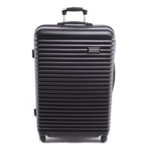 Leonardo Da Vinci 56X38X22Cm Bőrönd Fekete