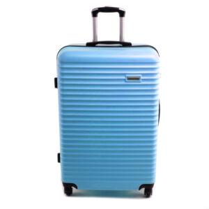 Leonardo Da Vinci 56X38X22Cm Bőrönd Világoskék