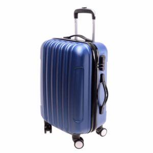 Kék Nagy Bőrönd L
