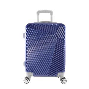 LC-015 kék közepes méretű PVC bőrönd (69*45*26 cm)