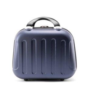 Kék Bőröndre Akasztható Táska (33*25*16 cm)