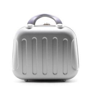 Ezüst színű Bőröndre Akasztható Táska (33*25*16 cm)