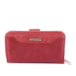 Miss You piros női nagyméretű műbőr pénztárca