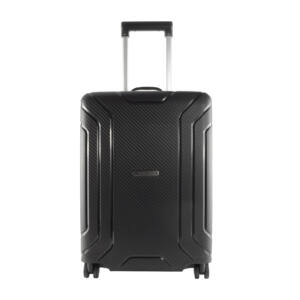 Fekete Touareg Matrix polipropilén kemény kabin bőrönd