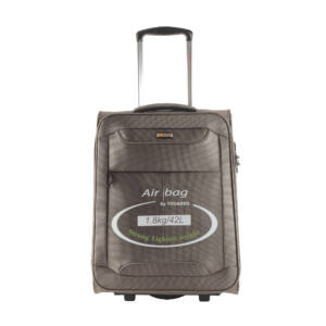 Touareg bronz színű extra könnyű kabin bőrönd