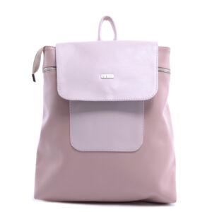 VIA*55 közepes méretű elegáns rózsaszín hátizsák