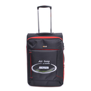 Touareg Közepes Méretű Bőrönd Fekete-Piros