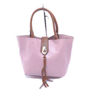 8502-1 Besty Rózsaszín Női Műbőr Válltáska
