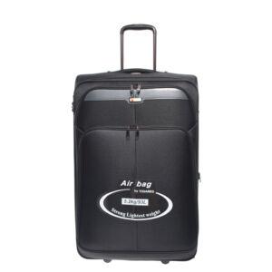 C09-255 Fekete Touareg Nagy Méretű Bőrönd