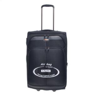 C09-255 Fekete Touareg Közepes Méretű Bőrönd
