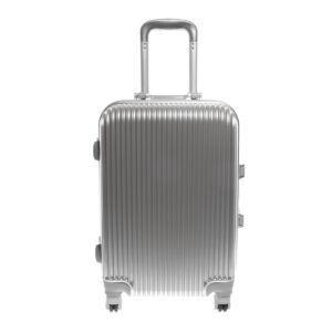 Ouguan Ezüst Színű Műanyag Bőrönd