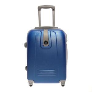 Kék Kemény Kabin Bőrőnd  (4 Kerekű)