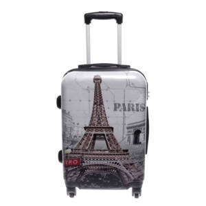 Ormi Eiffel Tornyos Kemény Közepes Bőrönd