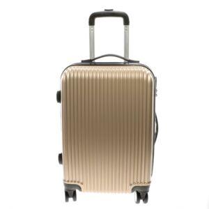 L888 arany  Közepes  Méretű Bőrönd