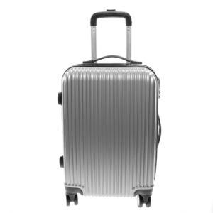 L888 Ezüst Közepes  Méretű Bőrönd