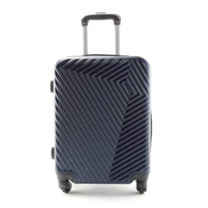 LC-020 Sötétkék kabin méretű PVC bőrönd (55*40*20 cm)