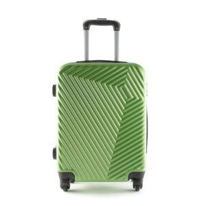LC-020 Zöld színű kabin méretű PVC bőrönd (55*40*20 cm)