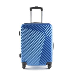 LC-020 Kék kabin méretű PVC bőrönd (55*40*20 cm)