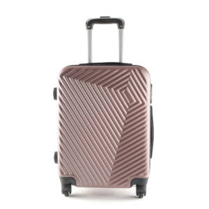 LC-020 Rózsaarany kabin méretű PVC bőrönd (55*40*20 cm)