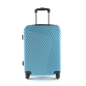 LC-020 Világoskék kabin méretű PVC bőrönd (55*40*20 cm)
