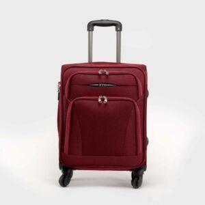 Besty bordó puha nagy méretű bőrönd