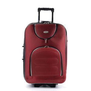Xtd  Közepes Bőrönd Bordó (2 Kerekű)